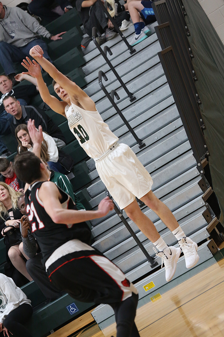 MHS guard David Duda, a senior, scored his 1,000th point on Jan. 16 during second quarter action against Phoenixville. After handling a pass from fellow senior Marcus Girardo, Duda drained a three pointer, giving him a career total of 1,002 . The Warriors won the matchup, 80-62.