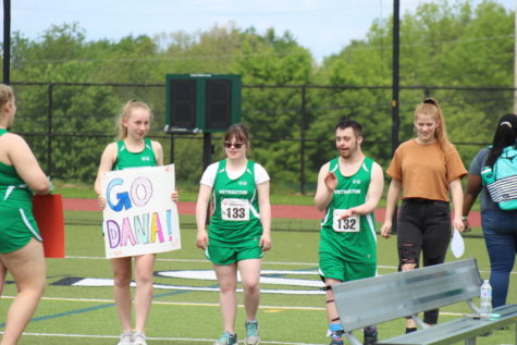 The Unified Track and Field Team hosted its first-ever meet on May 8.