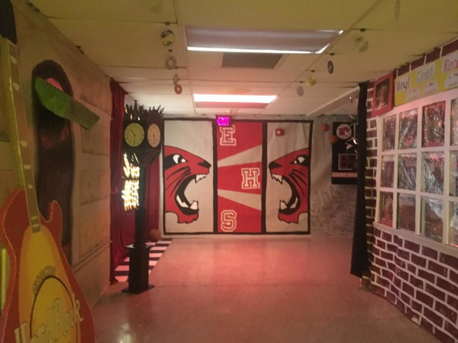 One section was dedicated to High School Musical designs and decorations.