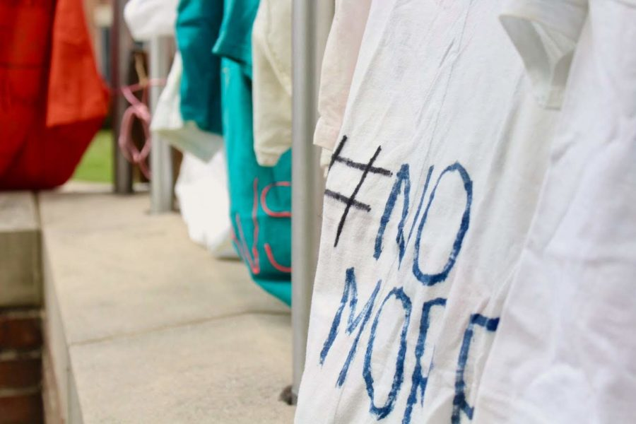 WPG Sends Out Anti-Domestic Violence Messages with the Clothesline Project