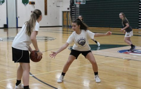 Girls Basketball Begins the Season with Open Gyms