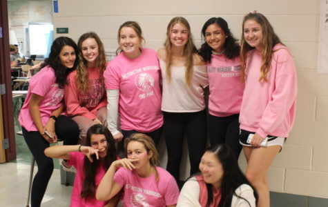 Spirit Week Features Pink Out and Green and White Days