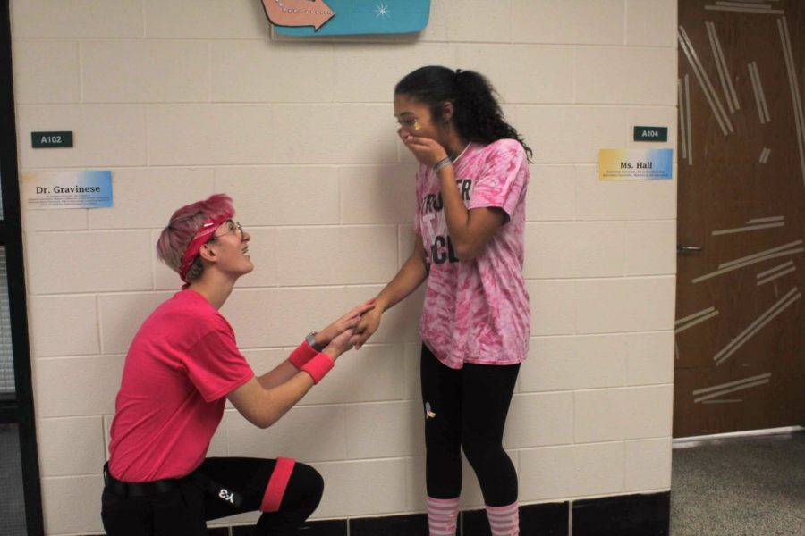 Ben falsely proposes to Bianca on Pink Out Day.