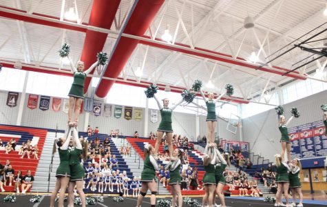 Cheerleading Squad Takes Sixth at States