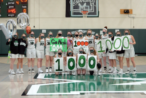 Timko joins the 1,000-point club, second junior to do so in MHS history